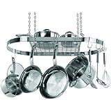 Range Kleen Oval Pot Rack, Stainless Steel