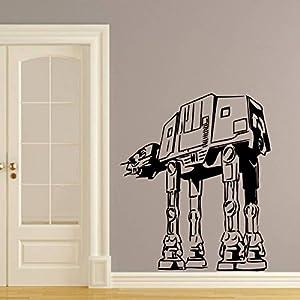 wandtattoo star wars logo at at walker krieg der sterne. Black Bedroom Furniture Sets. Home Design Ideas