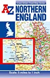 img - for Northern England Road Map (A-Z Road Map) book / textbook / text book