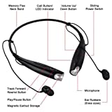 ZNU for Lg Tone Wireless Bluetooth Stereo Headset Headphone Hbs730 Univeral OEM Black for Iphone Lg Ipd Samsung