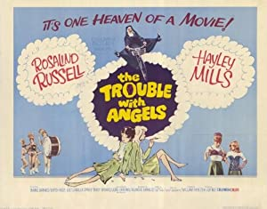 The Trouble With Angels Movie Poster (11 x 14 Inches - 28cm x 36cm) (1966) Style A -(Hayley Mills)(June Harding)(Rosalind Russell)(Gypsy Rose Lee)(Binnie Barnes)