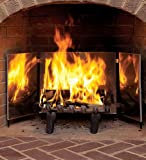 Medium Heat-Reflecting Fireplace Bright Reflectors
