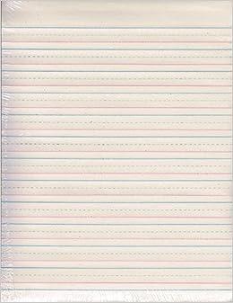 zaner bloser handwriting paper