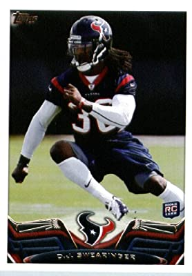 2013 Topps Football Card #63 D.J. Swearinger RC - Houston Texans (RC - Rookie Card) NFL Trading Cards