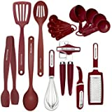 Kitchenaid 17 Piece Tool and Gadget Set, Red