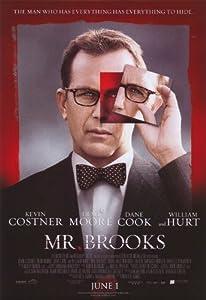 Mr. Brooks Poster Movie 11x17 Kevin Costner Demi Moore Dane Cook William Hurt