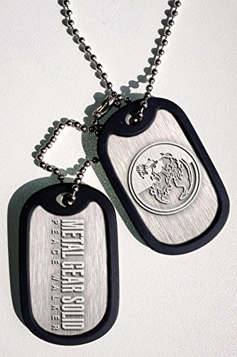 メタルギアソリッドPeacewalkerドッグタグ   Metal Gear Solid Peacewalker Dog Tags
