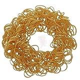 Toy - ETHAHE 600 St�ck Metallisch Gold Latex-frei Loom Wiederauff�llbar Gummib�nderpackung Armband mit 24 S-Clips & 1 Hacken