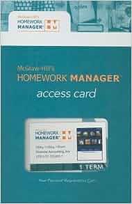 Mcgraw hill homework manager