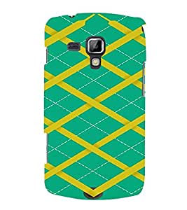 PrintVisa Sweater Design 3D Hard Polycarbonate Designer Back Case Cover for Samsung Galaxy S Duos S7582
