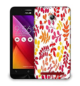 Snoogg Colorful Leaves Designer Protective Phone Back Case Cover For Asus Zenfone GO