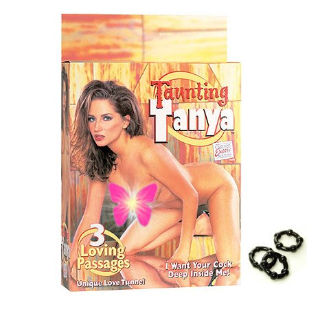 California Exotics / Swedish Erotica Taunting Tanya Love Doll Adult Sex Toy Kit
