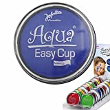 Aqua Schminke Party Wasserschminke blau Aquaschminke Wasser...