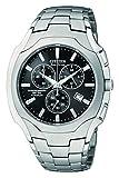 Citizen Men's Eco-Drive Chronograph Titanium Black Dial Watch #AT0890-56E