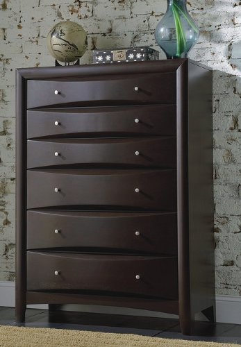Phoenix Bedroom Collection Solid Hardwood Chest back-927784