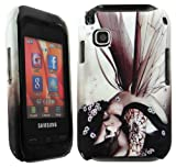 Cellmax Samsung GT-C3300K Champ Hard Shell Back Protection Case With Angel Pattern Skin Clip On Protection