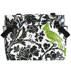 Green Parrot Lexington Diaper Bag