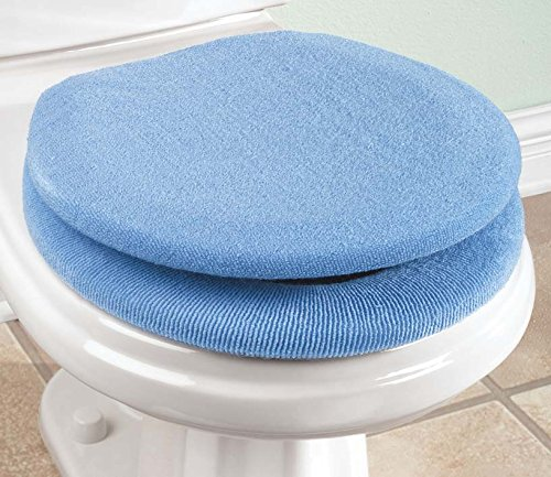 Soft N Comfy Toilet Seat Cover Sky Blue Bed Bath And Kitchen