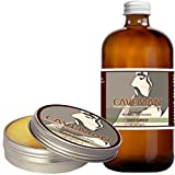 Caveman Deep Forest Combo Beard Oil and Beard/Mustache Balm, Leave in Conditioner, 1oz oil and balm Cedarwood, Fir, Eucalyptus