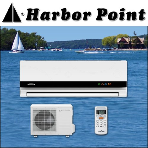 Harbor Point HS 35H1a 13 Seer 12000 BTU Ductless Air Conditioner Heat Pump with Free Installation Kit