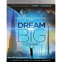 IMAX: Dream Big: Engineering Our World [4K Ultra HD + Blu-ray]