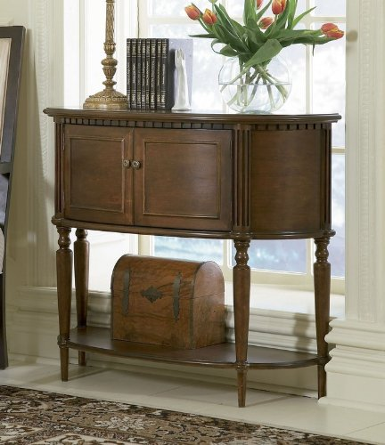 Elegant Foyer Name : Buy low price elegant warm brown finish entryway accent