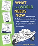 What the World Needs Now: A Resource Book for Daydreamers, Frustrated Inventors, Cranks, Efficiency Experts, Utopians, Gadgeteers, Tinkerers and Just about Everybody Else (1580083099) by Johnson, Steven M.