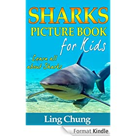 Children's Book About Sharks: A Kids Picture Book About Sharks with Photos and Fun Facts