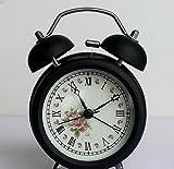 XH@G Retro fashion alarm clock/alarm/clock , white