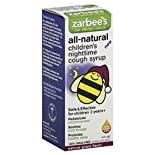 Zarbees Cough Syrup, Children's Nighttime, Natural Grape Flavor, 4 fl oz