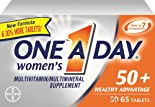 One A Day Multivitamin/Multimineral, Women's, Healthy Advantage, 50+ 65 tablets