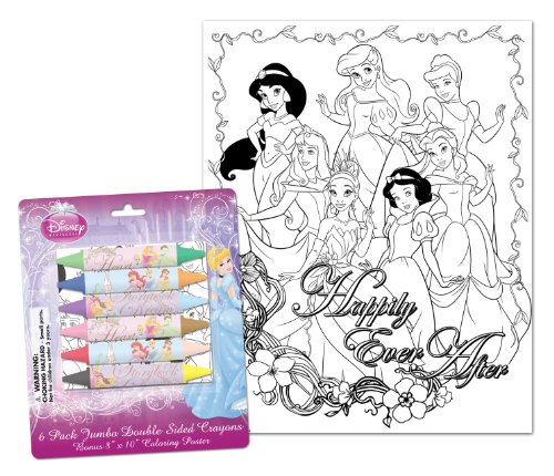 Princess Jumbo Double-Sided Crayons (11342A) - 1
