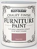Rust-Oleum Chalky Furniture Paint Dusky Pink 125ml