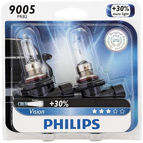 Philips 9005 Vision Upgrade Headlight Bulb, 2 Pack (Headlight Bulbs 03 Silverado compare prices)