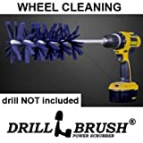 Car Wheel Cleaning Spinning Power Brush