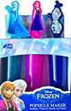 Disney Frozen Elsa, Anna , Olaf Popsicle Maker Inlcudes 3 Popsicle Molds and Stand Summer Fun Make Tasty Frozen Treats