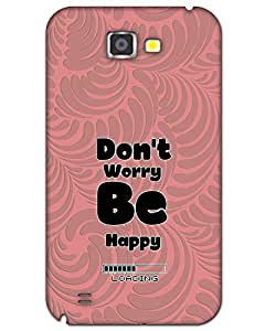 WEB9T9 Samsung Galaxy Note 2 Back Cover Designer Hard Case Printed Cover