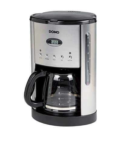 Domo Cafetera 1.8L DO413KT Acero