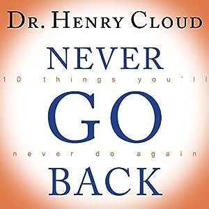 Never Go Back Audiobook