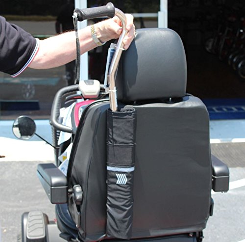 Challenger Nearly Universal CANE HOLDER for Pride and Drive Mobility Scooters and Powerchairs