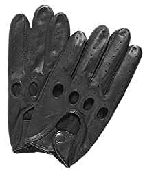 Pratt and Hart Traditional Leather Driving Gloves Size L Color Black