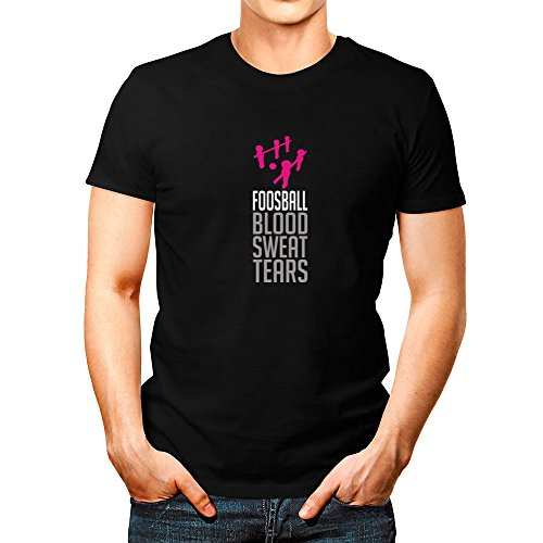 Idakoos-Foosball-BLOOD-SWEAT-TEARS-Sports-T-Shirt