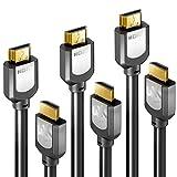 Sentivus 4K HDMI Kabel 2m Set auf HDMI 1.3