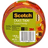 Scotch Duct Tape, Food Frenzy, 1.88-Inch by 10-Yard