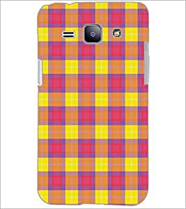 PrintDhaba Pattern D-5165 Back Case Cover for SAMSUNG GALAXY J1 (Multi-Coloured)