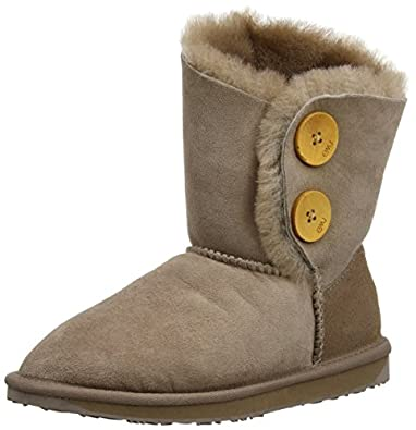 Emu Womens Valery Lo Boots W10541 Mushroom 3 UK, 35 EU, 5 US, Regular