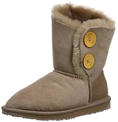 Emu Womens Valery Lo Boots W10541 Mushroom 3 UK, 35 EU, 5 US, Regular