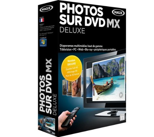Magix photos sur DVD MX deluxe