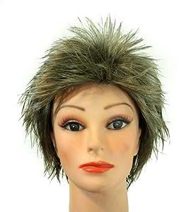 11 Short Dark Dirty Blonde boycut synthetic wig