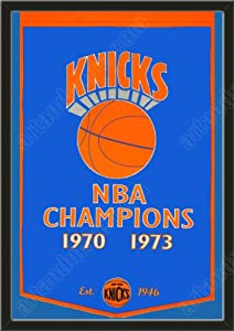 Dynasty Banner Of New York Knicks-Framed Awesome & Beautiful-Must For A... by Art and More, Davenport, IA